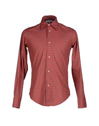 Leitmotiv Shirts Shirts Men Red