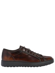 Salvatore Ferragamo Bicolor Leather Sneakers