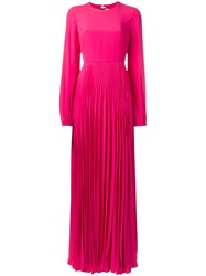 N 21 No21 Pleated Gown Pink Purple