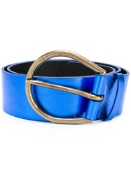 Maison Martin Margiela Large Knotted Belt Blue