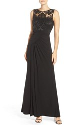 Eliza J Women's Draped Sleeveless Gown