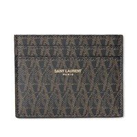Saint Laurent Monogram Card Holder Black
