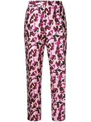 By Malene Birger Santsi Trousers Pink And Purple