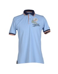 Tortuga Topwear Polo Shirts Men Sky Blue