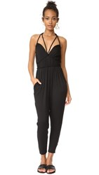 Ella Moss Bella Braided Jumpsuit Black