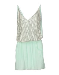 Hotel Particulier Dresses Short Dresses Women Light Green