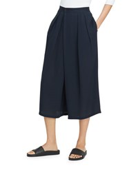 Vince Crossover Pull On Culotte Pant Coastal Blue
