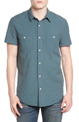 Lucky Brand Men's Mason Seersucker Shirt