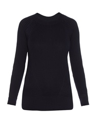Trademark Crew Neck Ribbed Knit Sweater