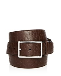 Montblanc Vintage Printed Alligator Belt Brown
