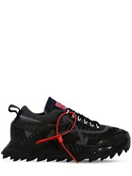 Off White Odsy Chunky Tech Low Top Sneakers Black