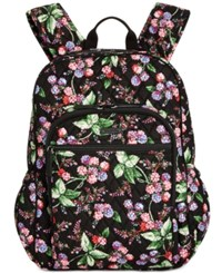 Vera Bradley Campus Tech Backpack Winter Berry