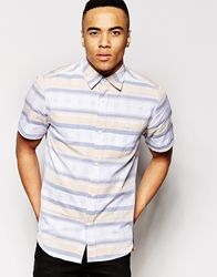 The Hundreds Striped Shirt Yellow