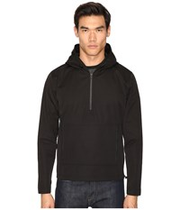 Atm Anthony Thomas Melillo Hooded Anorak Black Men's Coat
