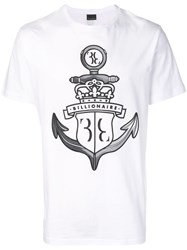 Billionaire Crown T Shirt White