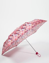 Fulton Minilite 2 Umbrella In Summer Spray Floral Multi