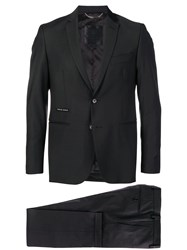 Philipp Plein Slim Fit Two Piece Suit Black