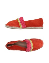 Maison Scotch Espadrilles Orange