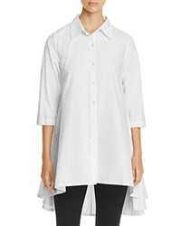 Gracia Oversized Shirt Dress Compare At 92 White