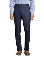 Saks Fifth Avenue Cotton Dress Pants Navy