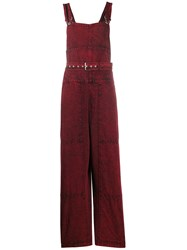Rachel Comey Distressed Effect Belted Jumpsuit 60