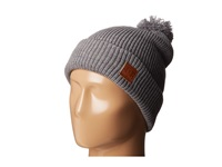 Dc Guetto Bird Beanie Heather Grey Beanies Gray