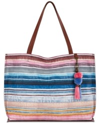 The Sak Vista Extra Large Tote Created For Macy's Sunset Stripe