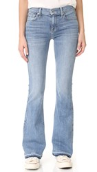 7 For All Mankind Ali Flare Jeans With Released Cuffs Gold Cost