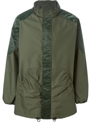 Julien David Hooded Parka Jacket Green