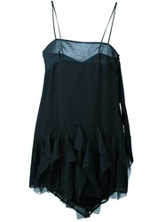Romeo Gigli Vintage Bow Detail Dress Black