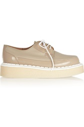 Purified George Cox Leather And Patent Leather Creepers