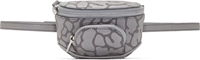 Alexander Wang Grey Camo Dumbo Travel Bag