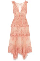 Alice Mccall Clementine Tiered Lace Dress Antique Rose Gbp