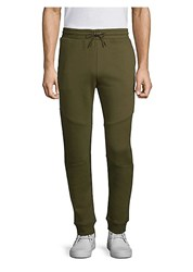 Versus By Versace Tape Jogger Pants Khaki