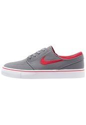 Nike Sb Zoom Stefan Janoski Trainers Cool Grey Gym Red White Black