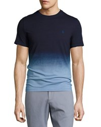 Penguin Ombre Jersey T Shirt Blue