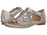 Rieker 62728 Levinia 28 Oro Silber Shoes Pewter