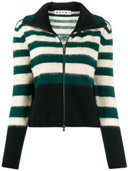 Marni Knitted Zip Front Jumper 60
