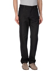 Tru Trussardi Denim Denim Trousers Men Black