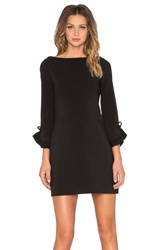 Kate Spade Ruffle Sleeve Dress Black