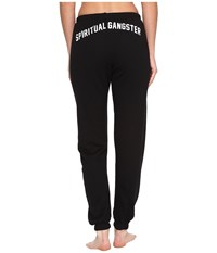 Spiritual Gangster Collegiate Arch Sweatpants Vintage Black Women's Workout