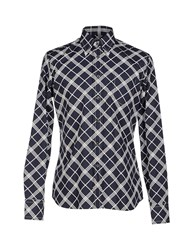 Prada Shirts Shirts Men Dark Blue