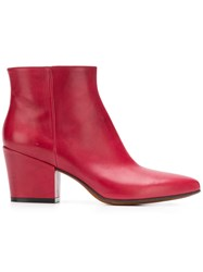 Buttero Joseline Boots Red