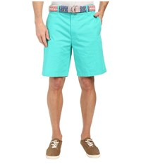 Vineyard Vines 9 Classic Summer Club Shorts Aquinnah Aqua Men's Shorts Blue