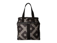 Le Sport Sac Large City Tote Star Guides Black Tote Handbags