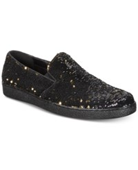 Inc International Concepts I.N.C. Flash Sequin Slip Ons Created For Macy's Shoes Gold