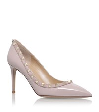 Valentino Rockstud Court Shoes 85 Female Nude