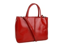Hobo Mariella Red Venice Leather Tote Handbags