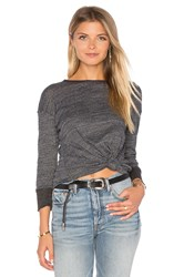 Candc California Isah Top Charcoal