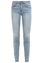 Vila Vicommit Slim Fit Jeans Light Blue Denim